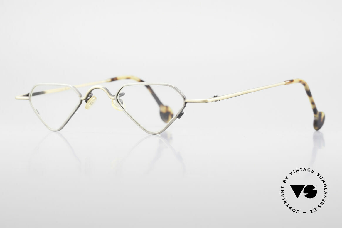 L.A. Eyeworks Millie 403 Extraordinary Reading Glasses, with attention to details (the frame has a year of birth), Made for Men and Women