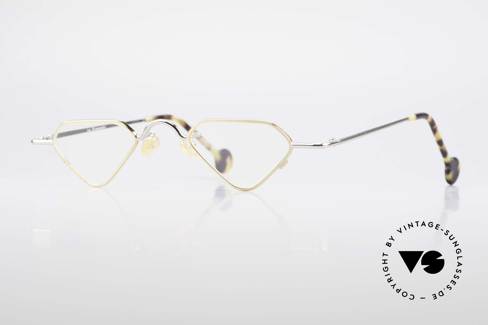 L.A. Eyeworks Millie 451 Reading Glasses Like A Diamond, interesting vintage reading glasses by L.A. EYEWORKS, Made for Men and Women