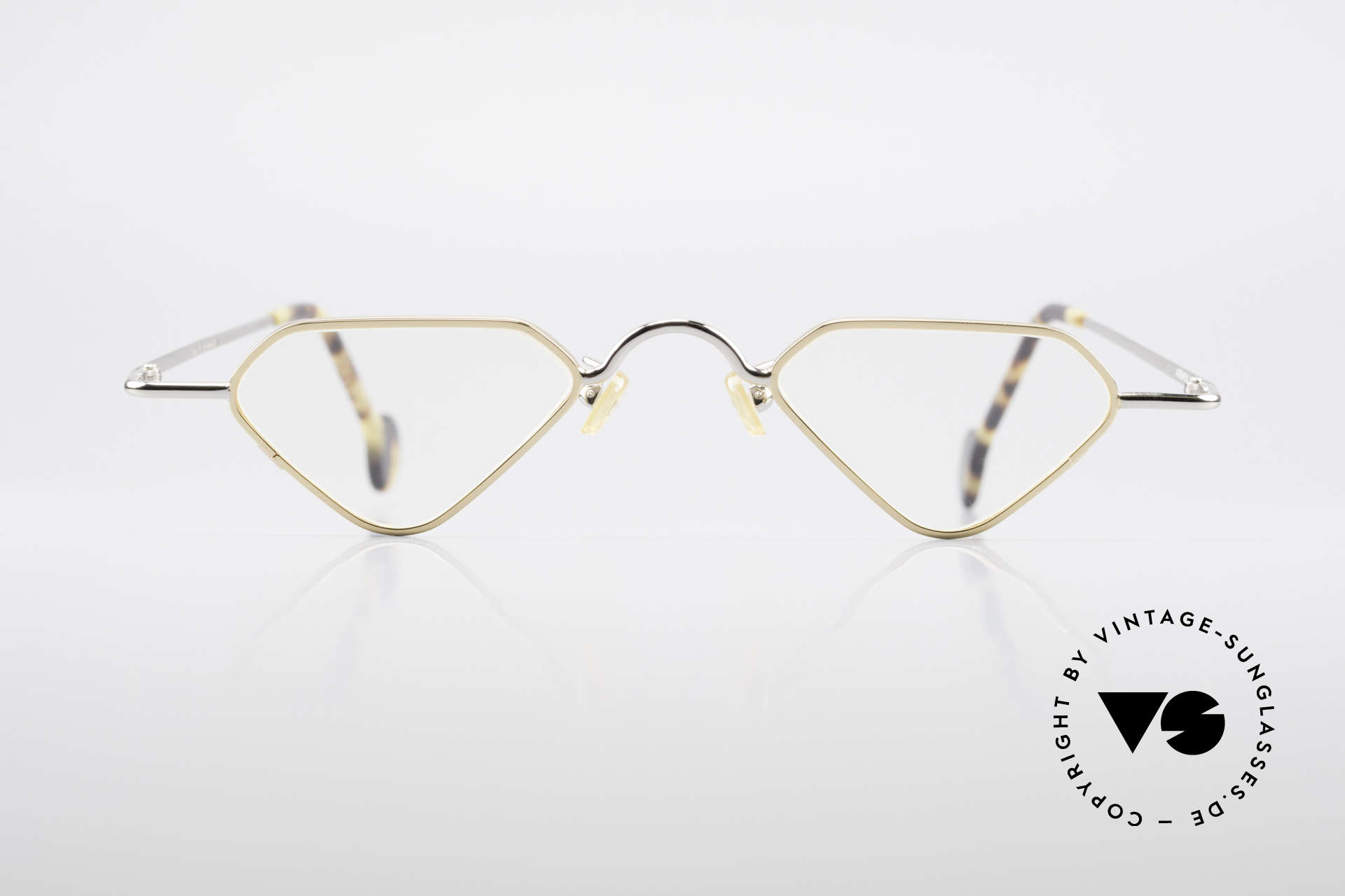 L.A. Eyeworks Millie 451 Reading Glasses Like A Diamond, frame is shaped like a diamond (a true EYE-CATCHER), Made for Men and Women