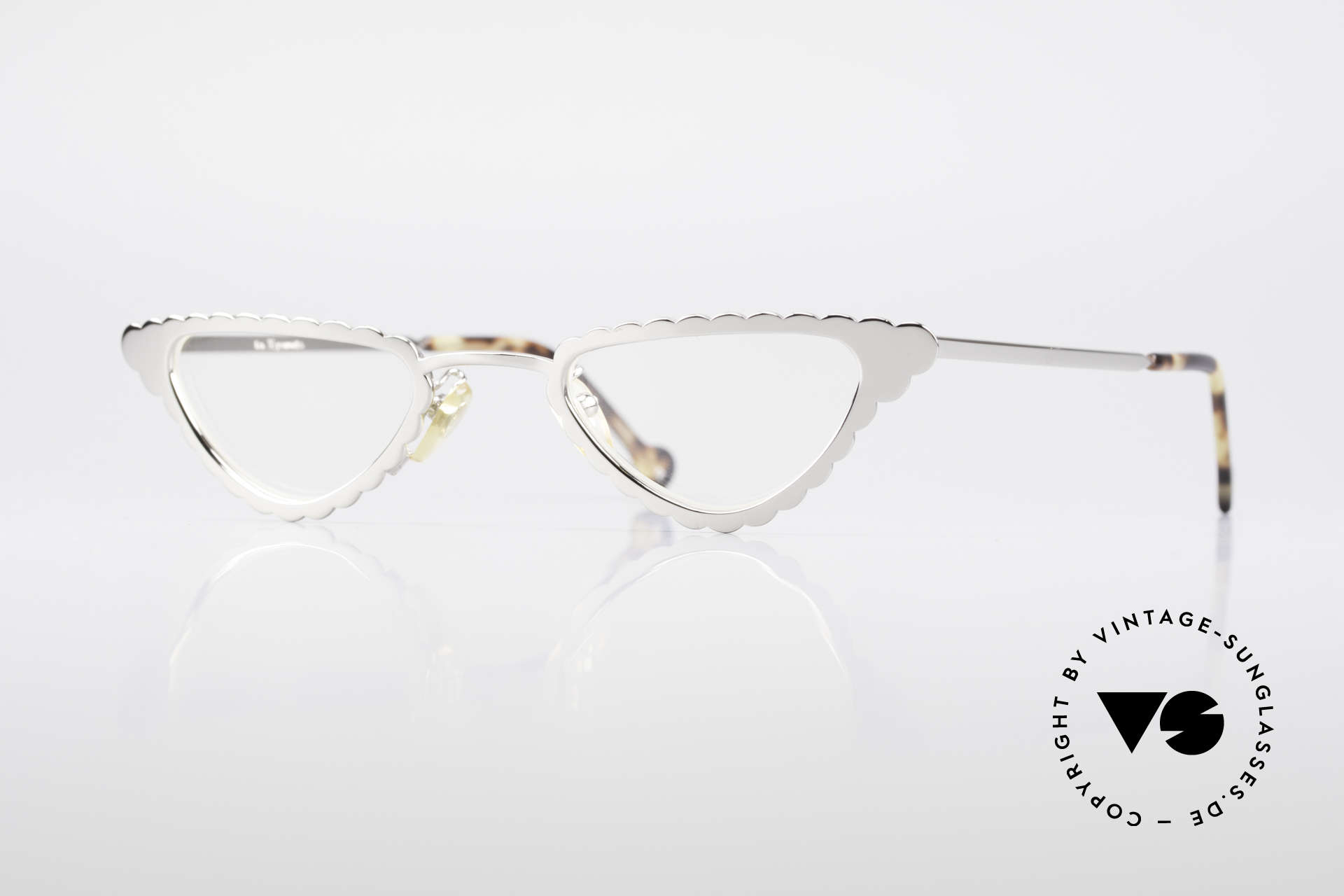 L.A. Eyeworks Macaroni 405 Reading Glasses Like A Leaf, interesting vintage reading glasses by L.A. EYEWORKS, Made for Women