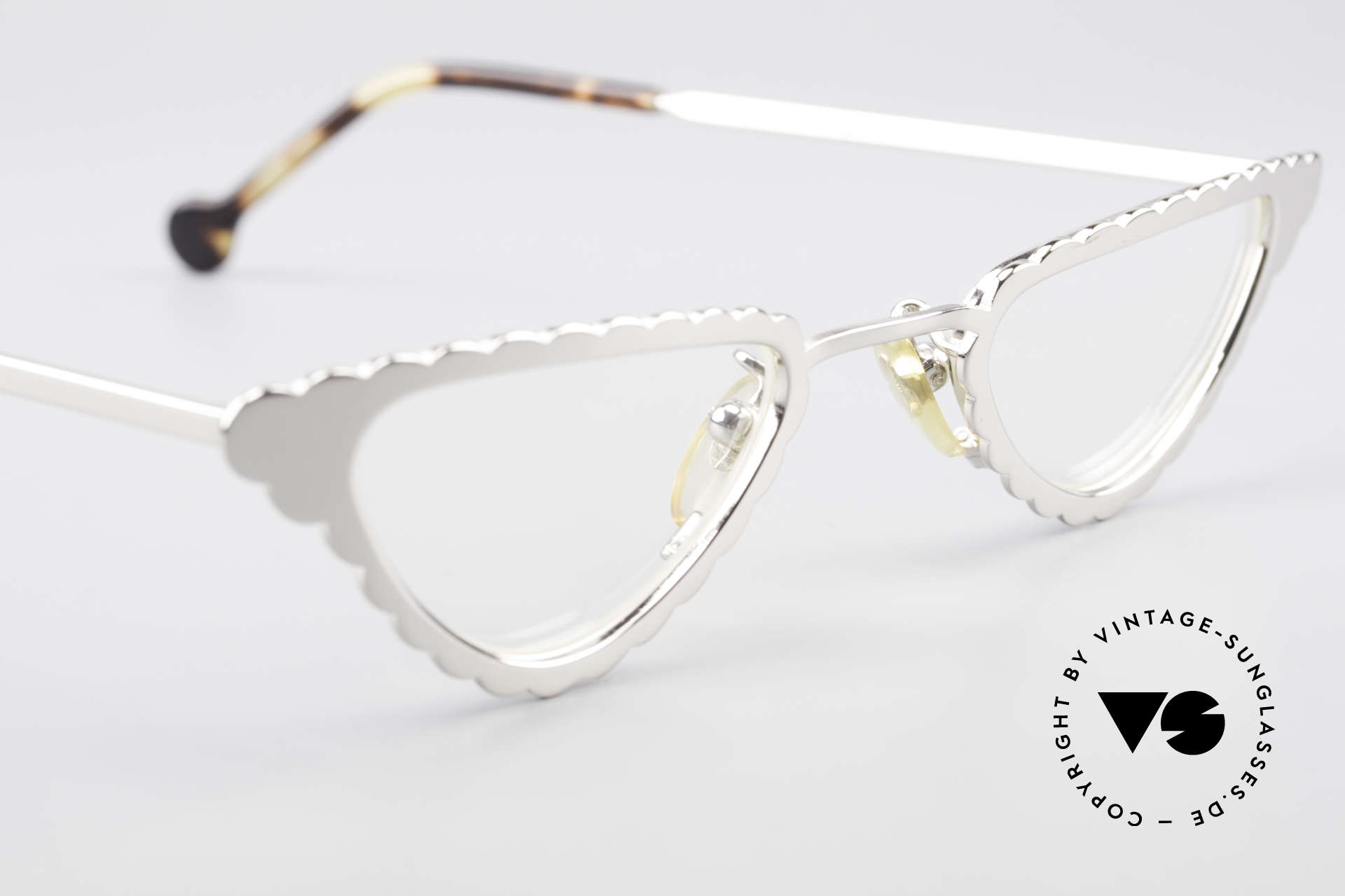 L.A. Eyeworks Macaroni 405 Reading Glasses Like A Leaf, NO RETRO eyewear, but a beautiful old original (rarity), Made for Women