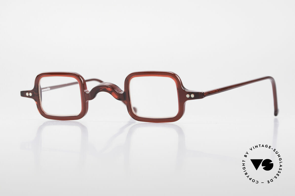 L.A. Eyeworks LALO 347 Vintage 90's Glasses No Retro, L.A. Eyeworks = invigorating designs (free-spirited), Made for Men and Women