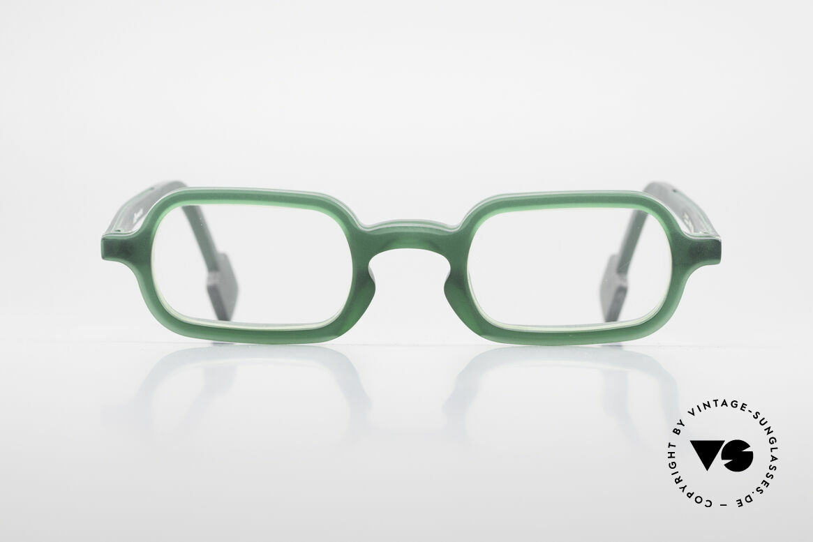 """L.A. Eyeworks HANK 230 True Vintage 90's Eyeglasses, every frame has a name """"Hank"""" & a year of birth """"93"""", Made for Men"""