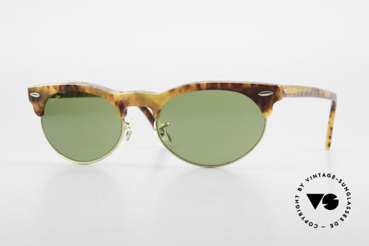 Ray Ban Oval Max 80's Bausch & Lomb Original Details