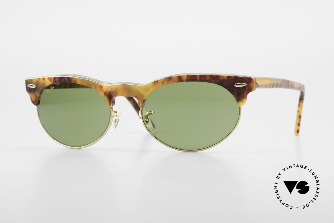 Ray Ban Oval Max 80's Bausch & Lomb Original, old original 1980's sunglasses by RAY-BAN, USA, Made for Men and Women