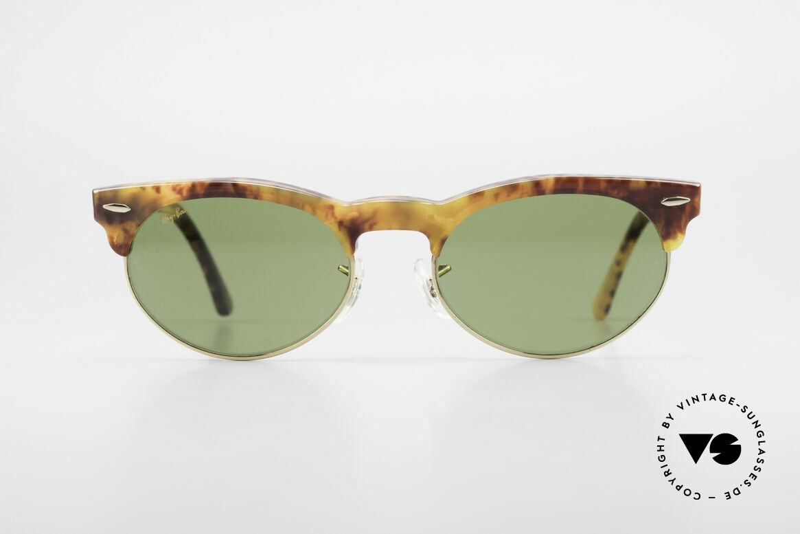 Ray Ban Oval Max 80's Bausch & Lomb Original, still one of the most popular vintage sunglasses, Made for Men and Women