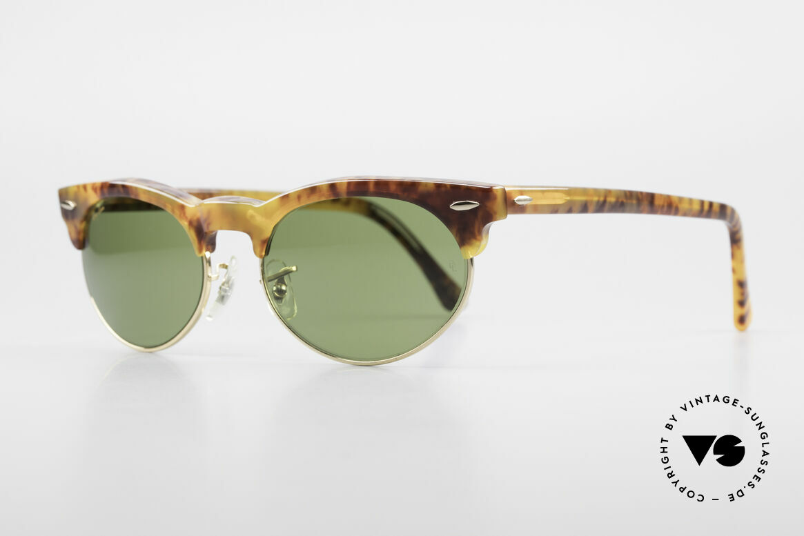 Ray Ban Oval Max 80's Bausch & Lomb Original, Bausch&Lomb RB3 quality lenses; 100% UV prot., Made for Men and Women