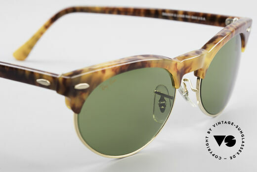 Ray Ban Oval Max 80's Bausch & Lomb Original, orig. name: Ray-Ban Oval Max, W1268, RB3, 54mm, Made for Men and Women