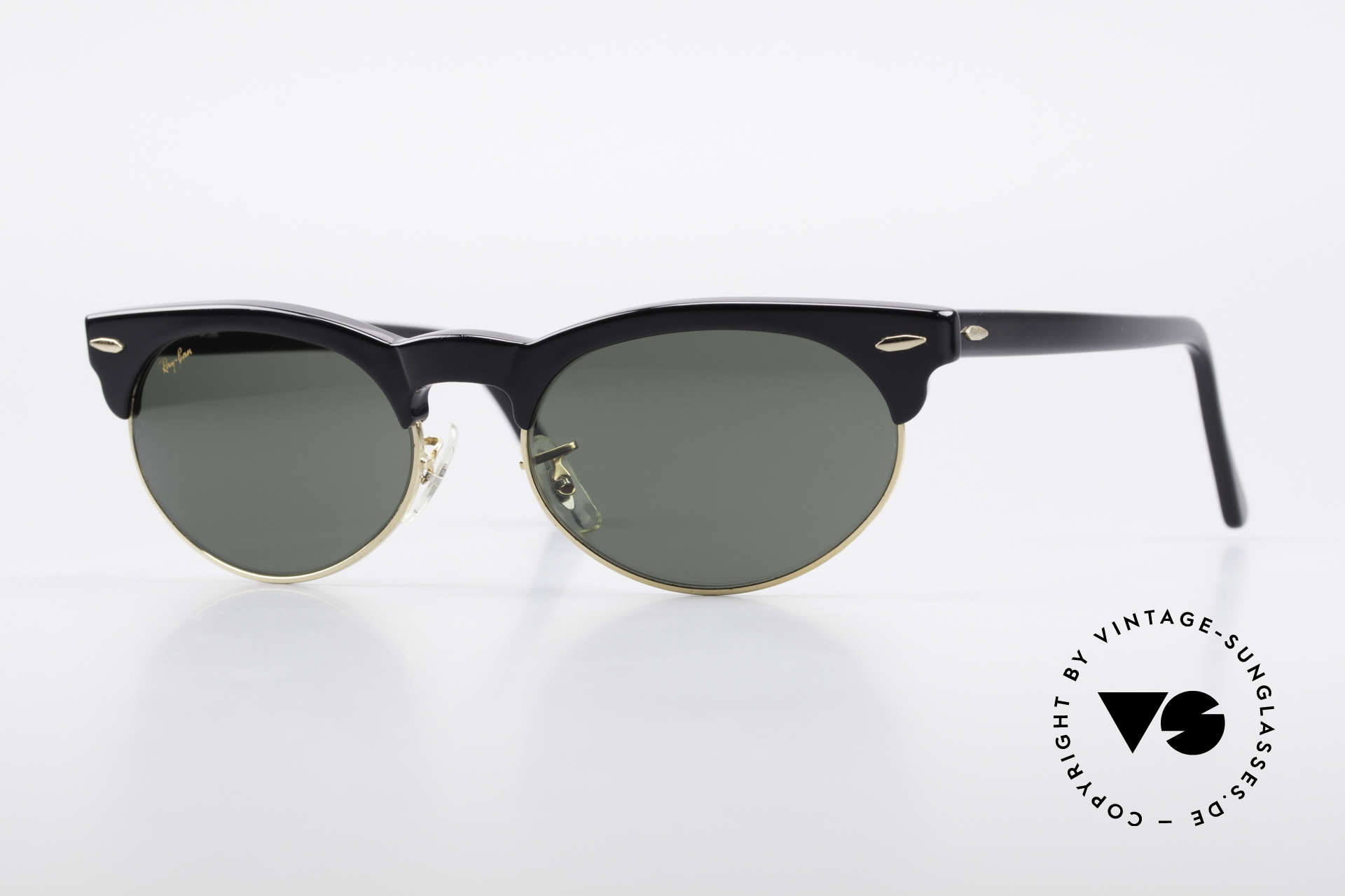 Ray Ban Oval Max 80's Bausch & Lomb Shades B&L, old original 1980's sunglasses by RAY-BAN, USA, Made for Men and Women
