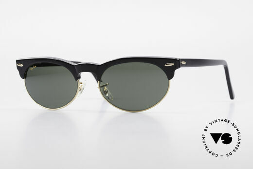 Ray Ban Oval Max 80's Bausch & Lomb Shades B&L Details