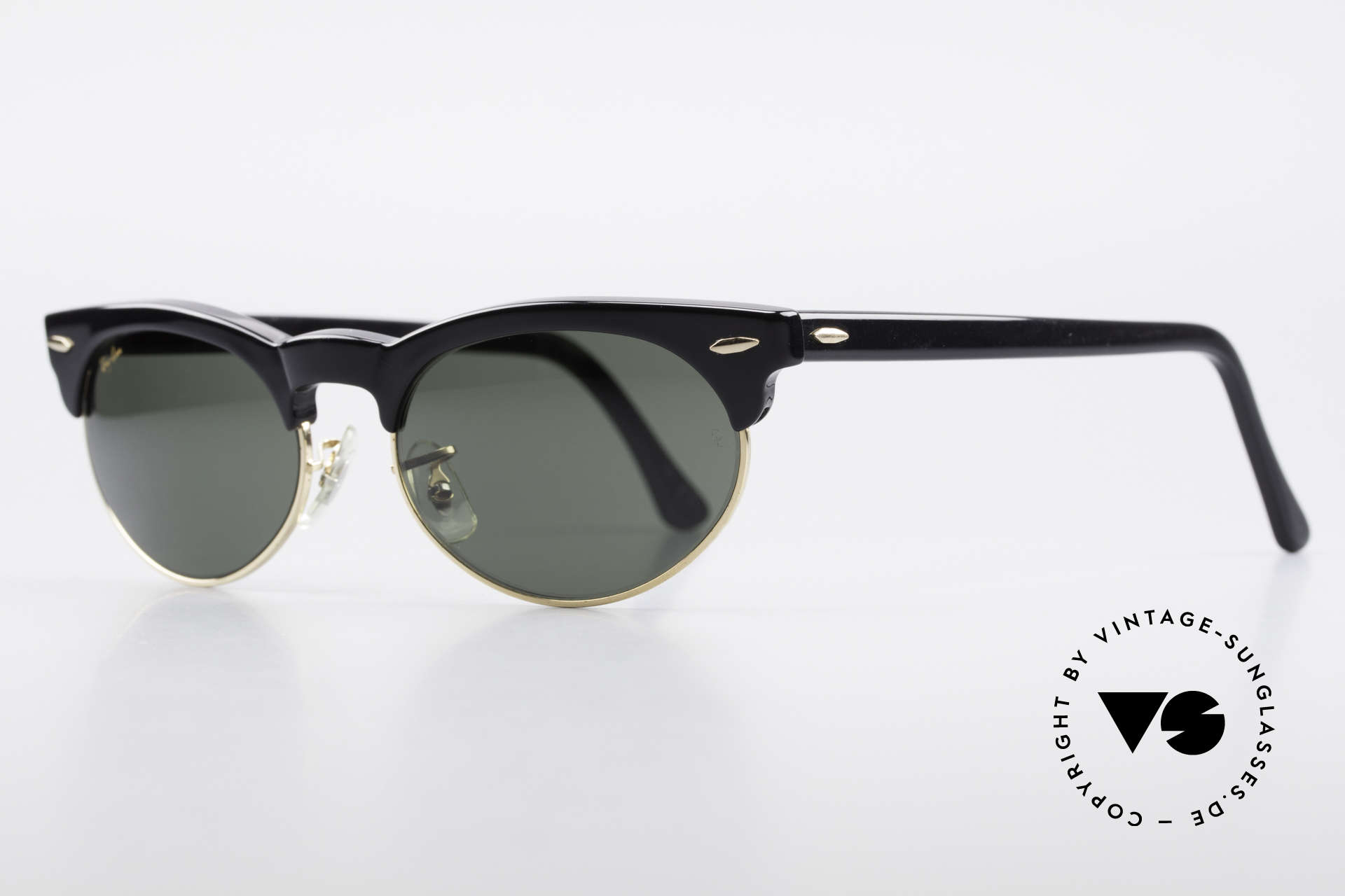 Ray Ban Oval Max 80's Bausch & Lomb Shades B&L, Bausch&Lomb G15 quality lenses; 100% UV prot., Made for Men and Women