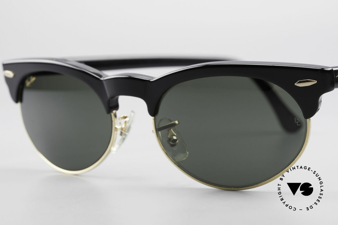 Ray Ban Oval Max 80's Bausch & Lomb Shades B&L, never worn (like all our vintage Ray Ban eyewear), Made for Men and Women