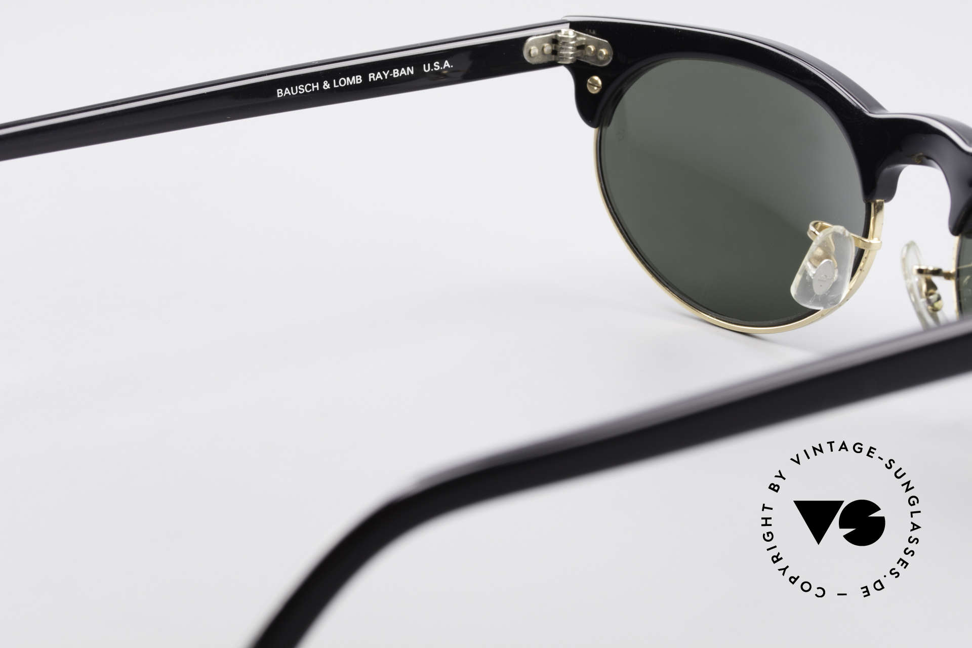 Ray Ban Oval Max 80's Bausch & Lomb Shades B&L, orig. name: Ray-Ban Oval Max, W1266, G15, 54mm, Made for Men and Women