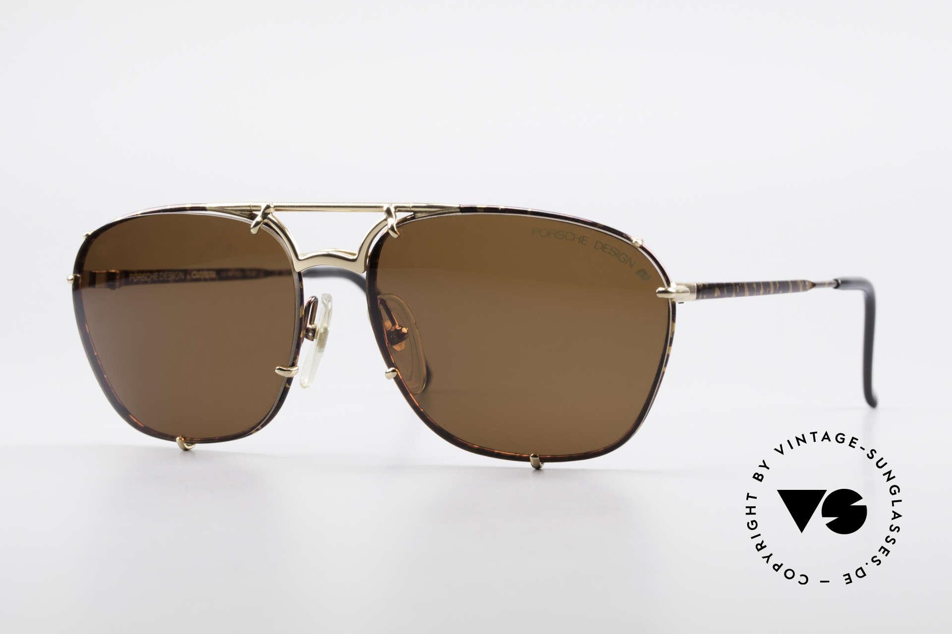 Porsche 5647 90s Classic Vintage Sunglasses, classic men's sunglasses by Porsche Carrera Design, Made for Men
