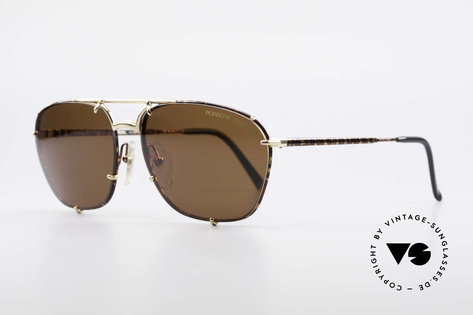 Porsche 5647 90s Classic Vintage Sunglasses, lightweight and very comfortable (high-end quality), Made for Men