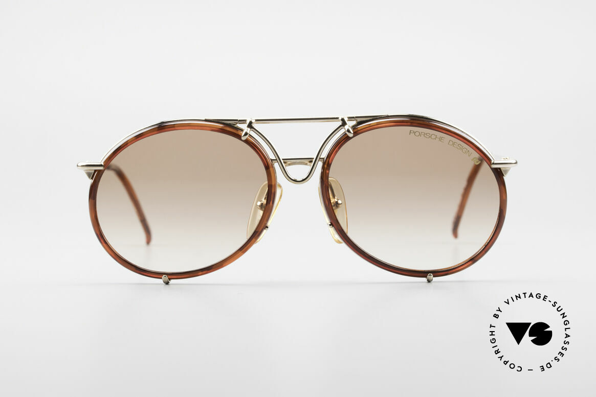 Porsche 5661 Classic 90's Sunglasses Round, model 5661 in large size 54-16, 140 (UNISEX model), Made for Men and Women