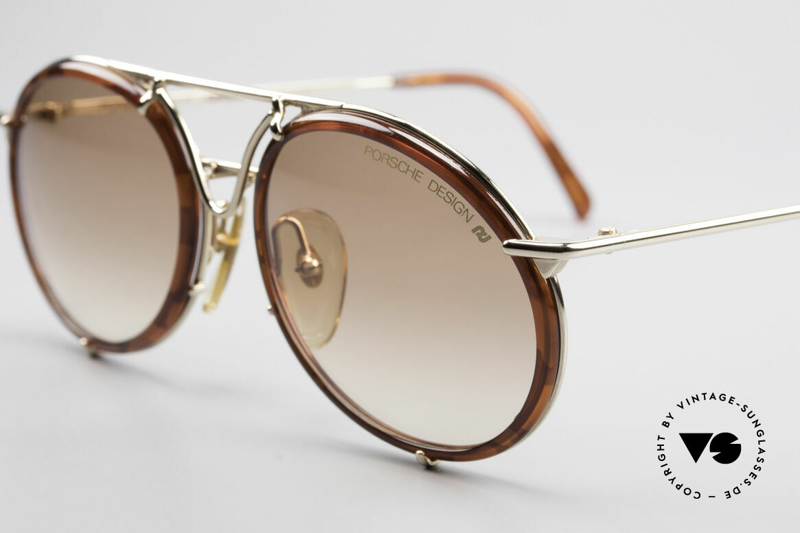 Porsche 5661 Classic 90's Sunglasses Round, unworn; single item (with orig. Porsche Design case), Made for Men and Women
