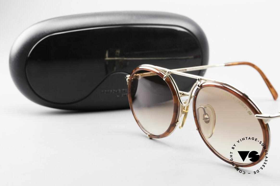 Porsche 5661 Classic 90's Sunglasses Round, Size: medium, Made for Men and Women
