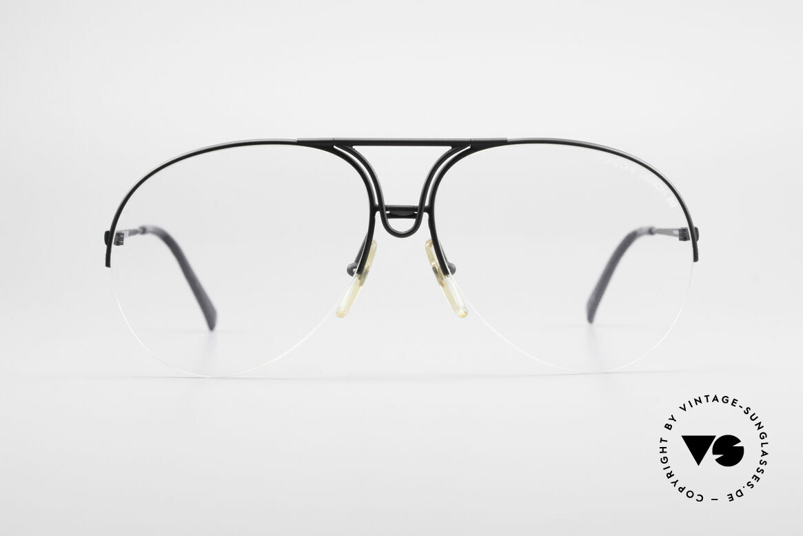 Porsche 5627 Semi Rimless 90's Frame Large, rimless frame, lightweight & first class comfort, Made for Men