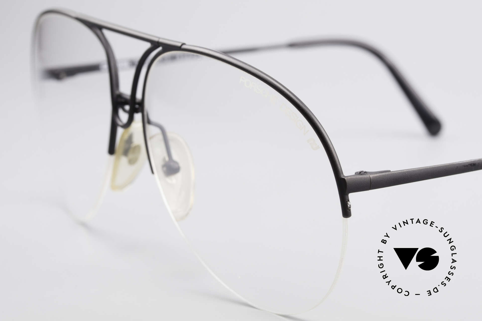 Porsche 5627 Semi Rimless 90's Frame Large, never worn & with original Porsche Design case, Made for Men