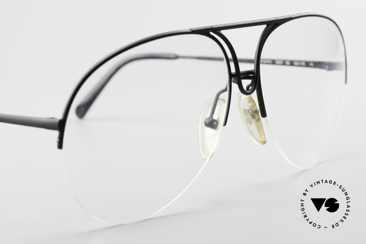 Porsche 5627 Semi Rimless 90's Frame Large, NO RETRO eyeglasses, but an original from 1991, Made for Men