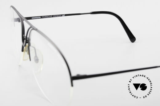 Porsche 5627 Semi Rimless 90's Frame Large, demo lens should be replaced with prescriptions, Made for Men