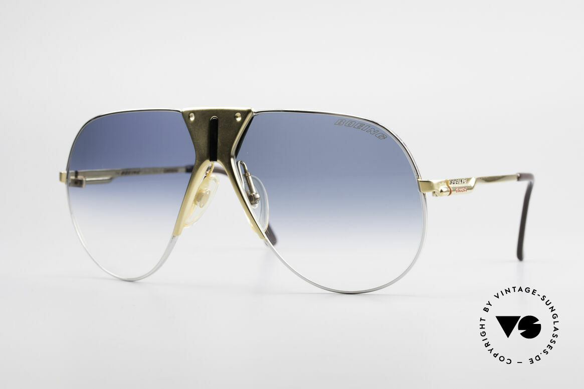Boeing 5701 Famous 80's Pilots Sunglasses, The BOEING Collection by Carrera from 1988/1989, Made for Men and Women