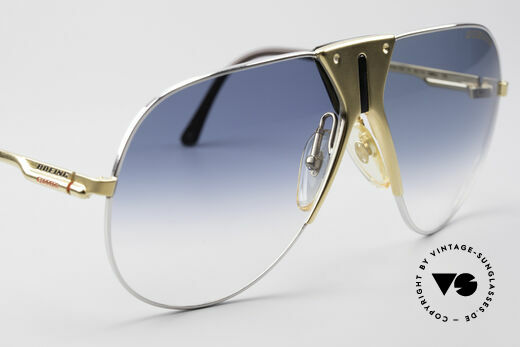 Boeing 5701 Famous 80's Pilots Sunglasses, unworn single item (comes with a case by FENDI), Made for Men and Women