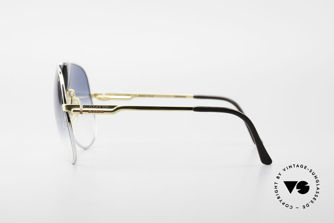 Boeing 5701 Famous 80's Pilots Sunglasses, reduced to 499€ (the right lens has a small scratch), Made for Men and Women