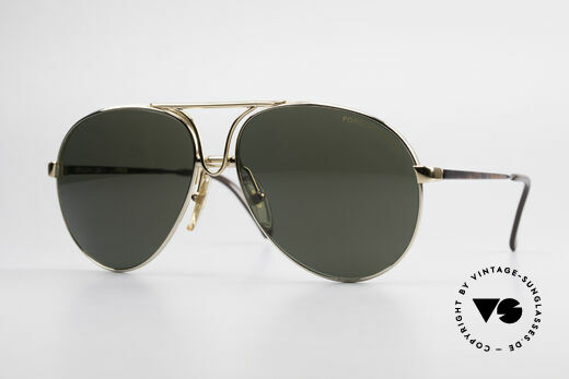 Porsche 5657 L Sunglasses With Two Fronts Details