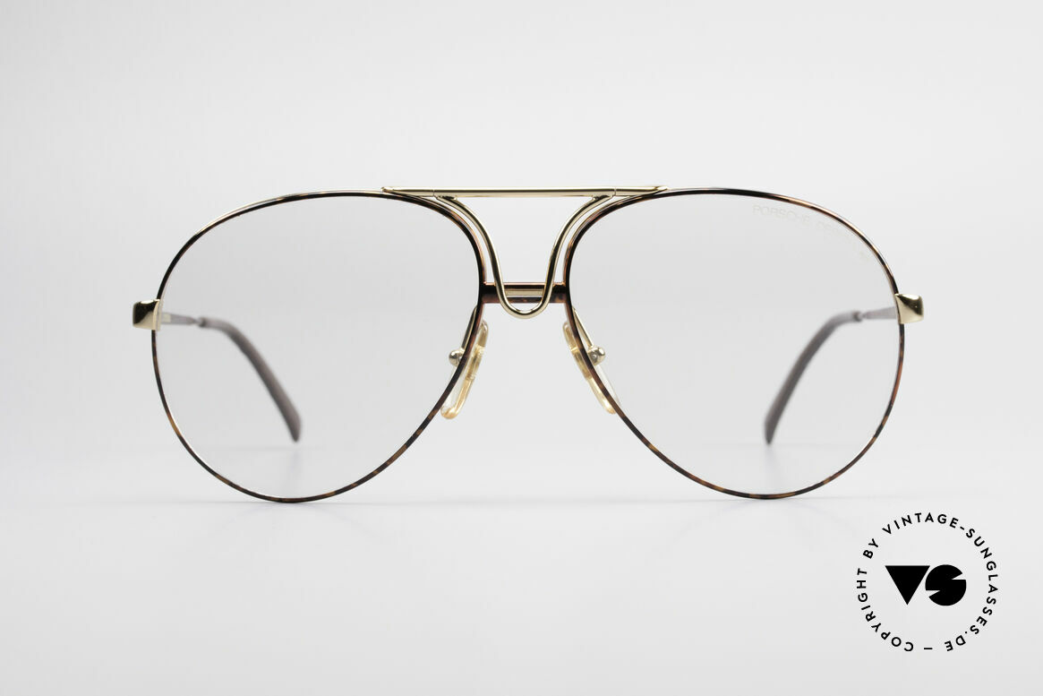 Porsche 5657 L Sunglasses With Two Fronts, thus, a combination of sunglasses and eyeglasses, Made for Men