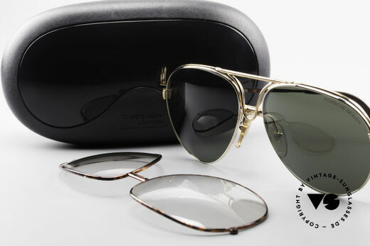 Porsche 5657 L Sunglasses With Two Fronts, NO RETRO EYEWEAR, but a rare old 90's original!, Made for Men