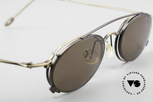 ProDesign P806 Polarized Clip On 90's Shades, NO RETRO fashion, but a precious 20 years old RARITY, Made for Men and Women