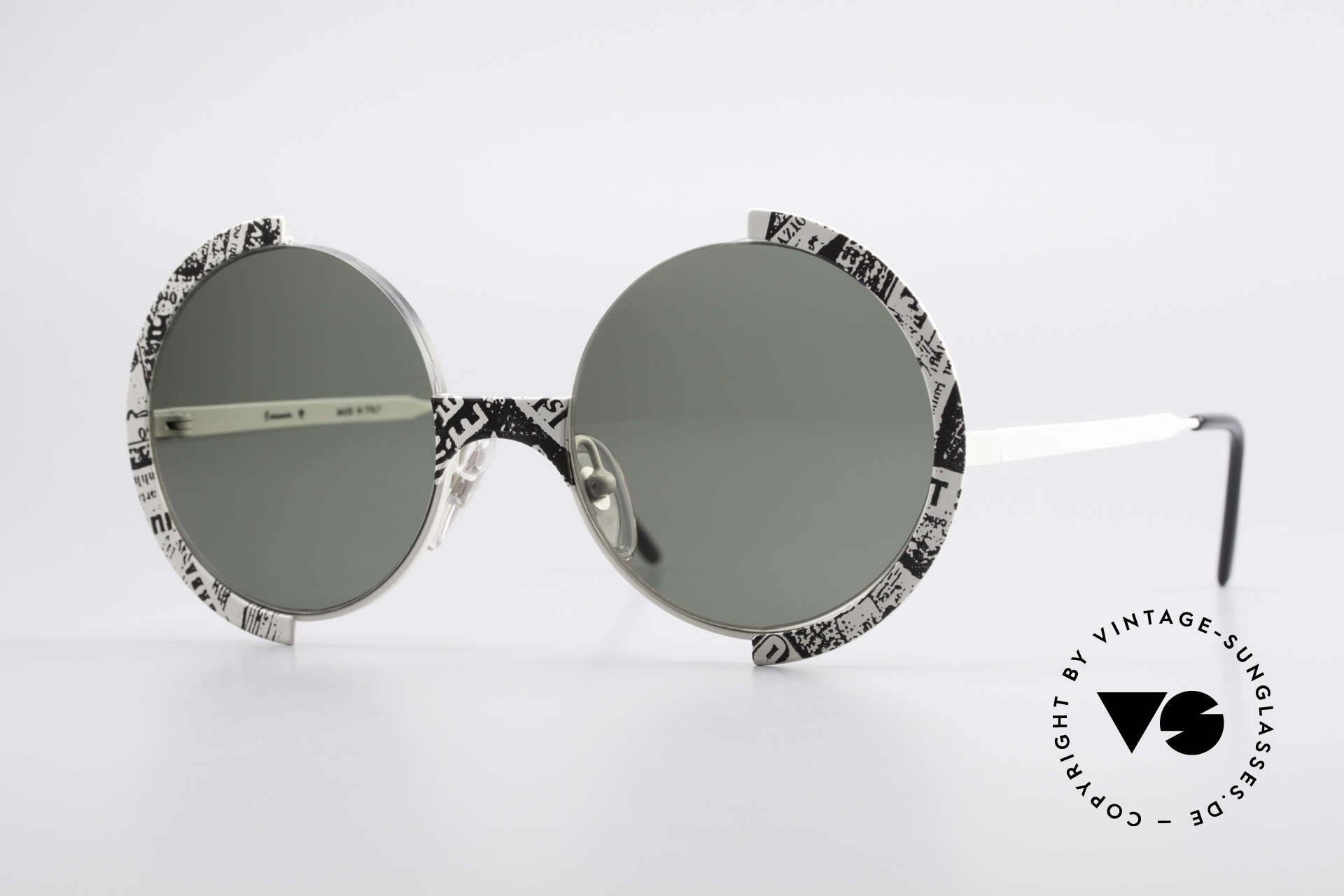 Casanova FC4 Fancy Newspaper Sunglasses, fantastic, fancy 80's Casanova vintage sunglasses, Made for Men and Women