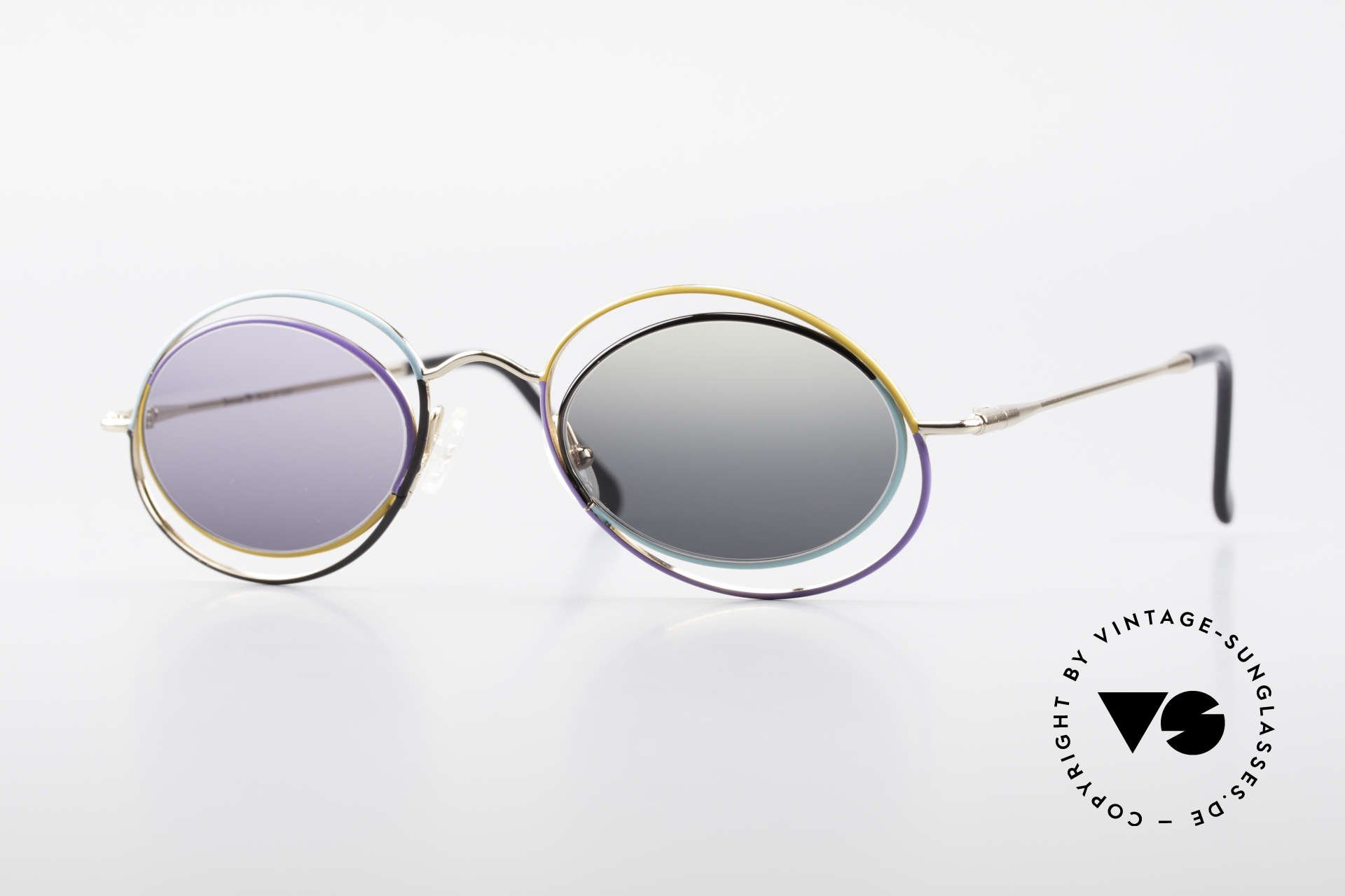Casanova LC18 Vintage Art Sunglasses 80's, enchanting vintage 1980's CASANOVA sunglasses, Made for Women