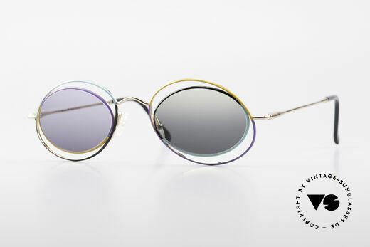 Casanova LC18 Vintage Art Sunglasses 80's Details
