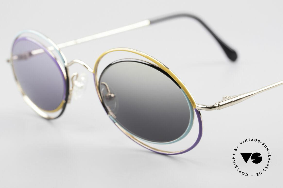Casanova LC18 Vintage Art Sunglasses 80's