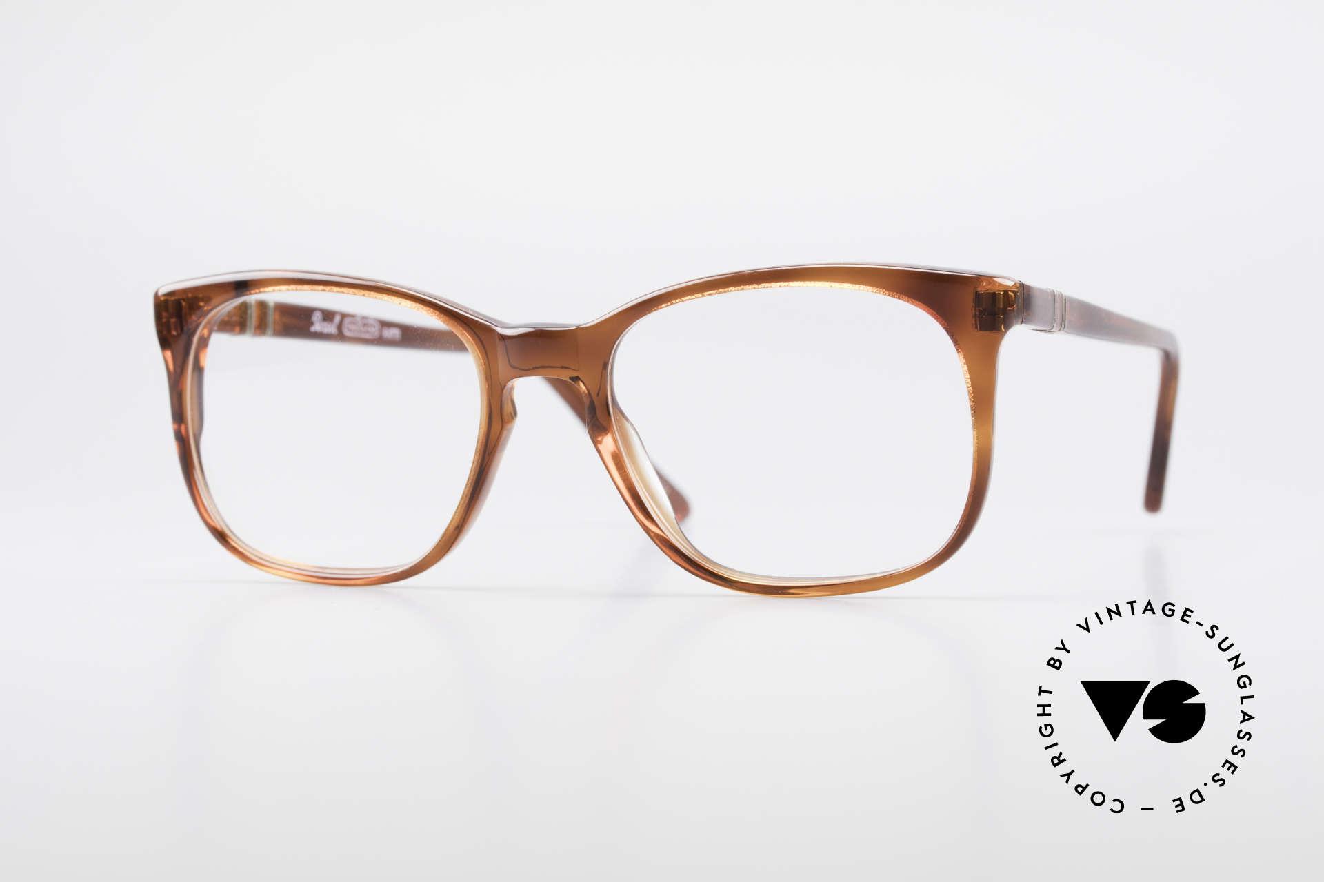 Persol 93145 Ratti Small Classic 80's Eyeglasses, SMALL, old Persol Ratti eyeglasses from 1986, Made for Men and Women