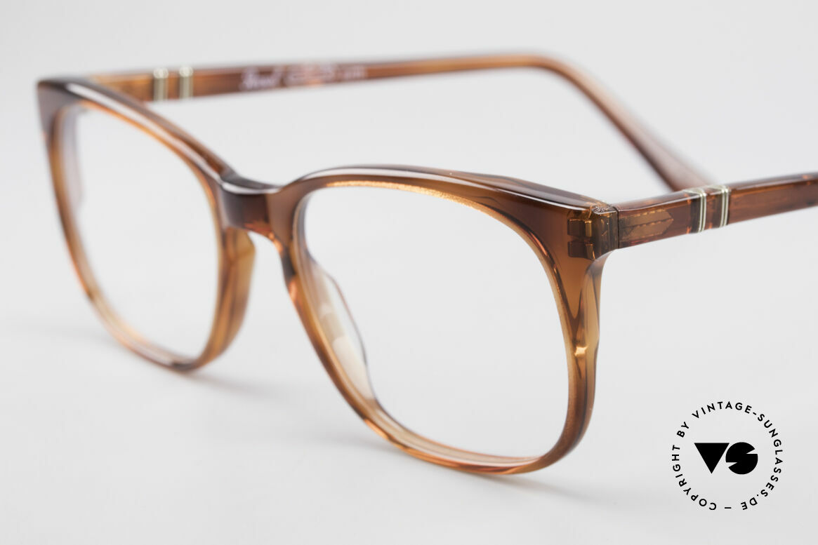 Persol 93145 Ratti Small Classic 80's Eyeglasses, 'old school' design or 'nerd' look, in these days, Made for Men and Women