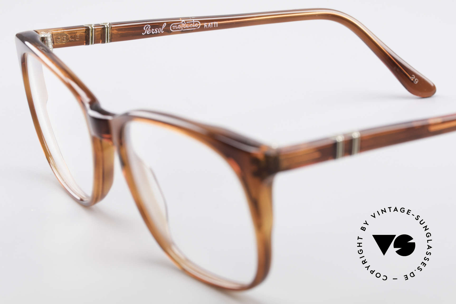 Persol 93145 Ratti Small Classic 80's Eyeglasses, never worn (like all our vintage PERSOL RATTI), Made for Men and Women