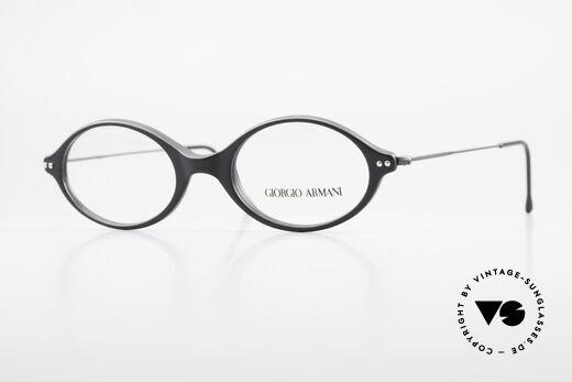 Giorgio Armani 378 90's Vintage Unisex Frame Oval Details