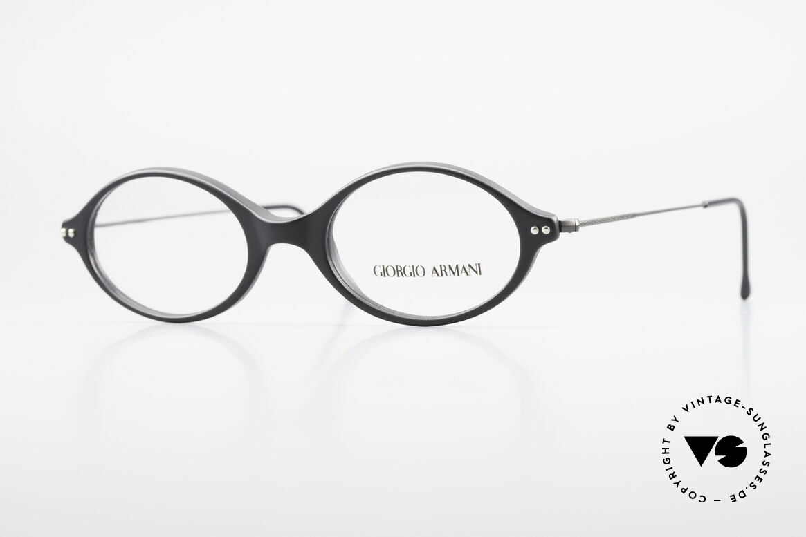 Giorgio Armani 378 90's Vintage Unisex Frame Oval, Giorgio Armani, Mod. 378, col. 174, Gr. 48-19, 140, Made for Men and Women