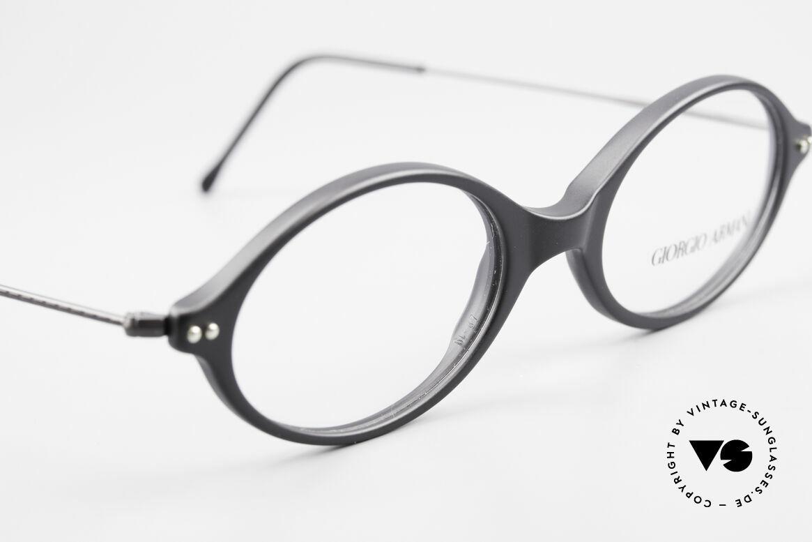 Giorgio Armani 378 90's Vintage Unisex Frame Oval, unworn Giorgio Armani original from the mid. 90's, Made for Men and Women