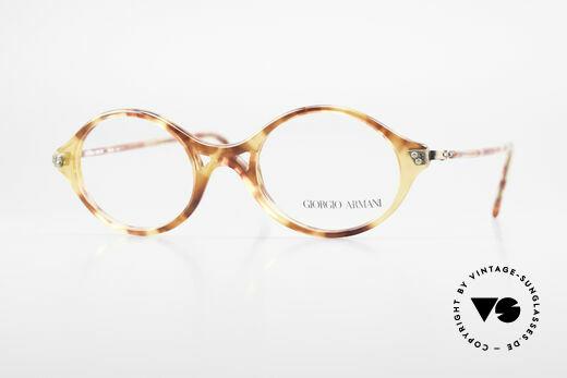 Giorgio Armani 339 Small Oval 90's Eyeglasses Details