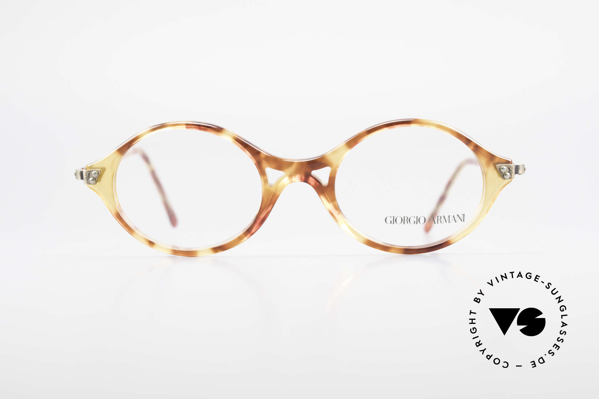 Giorgio Armani 339 Small Oval 90's Eyeglasses, a true classic in design & coloring (timeless elegant), Made for Men and Women