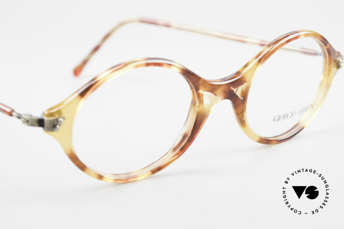 Giorgio Armani 339 Small Oval 90's Eyeglasses, NO RETRO; a unique original in SMALL 125mm size!, Made for Men and Women