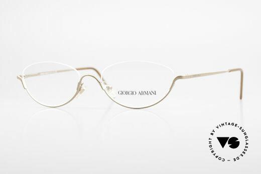 Giorgio Armani 1080 90's Reading Glasses Unisex Details