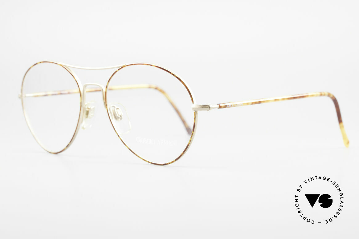 Giorgio Armani 120 Vintage Aviator Glasses Men, highest functionality for an excellent wearability, Made for Men
