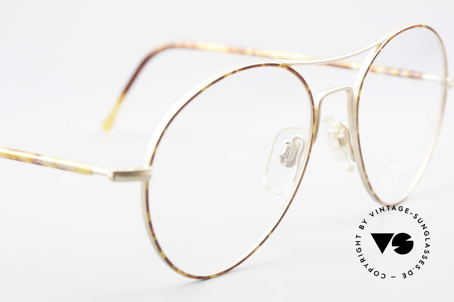 Giorgio Armani 120 Vintage Aviator Glasses Men, never worn (like all our 1980's designer classics), Made for Men