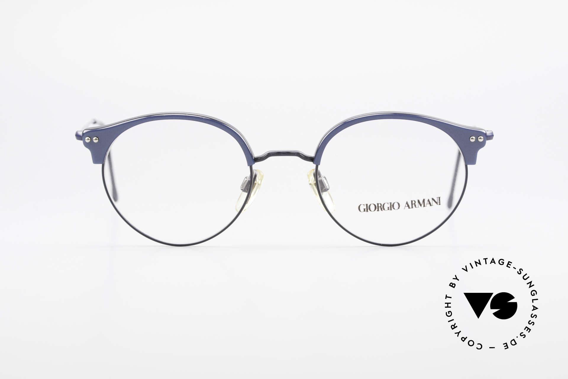 Giorgio Armani 377 90's Panto Style Eyeglasses, a real classic: famous 'panto'-design (simply elegant), Made for Men and Women